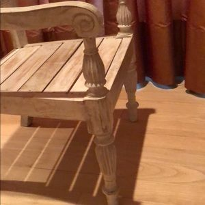 Other - CHILDS DECORATIVE DETAILED PICKLED WOOD CHAIR